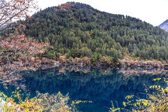 Jiuzhaigou Valley national park. Jiuzhaigou Valley Scenic and Historic Interest Area, Sichuan, China Stock Photos