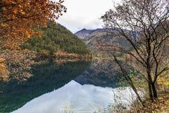 Jiuzhaigou Valley national park. Jiuzhaigou Valley Scenic and Historic Interest Area, Sichuan, China Stock Photo