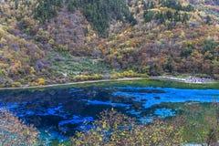 Jiuzhaigou Valley national park Royalty Free Stock Photos