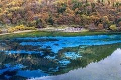 Jiuzhaigou Valley national park. Jiuzhaigou Valley Scenic and Historic Interest Area, Sichuan, China Stock Image