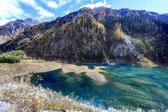 Jiuzhaigou Valley national park Stock Photos