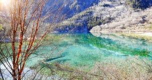 Jiuzhaigou Valley Scenic Royalty Free Stock Images