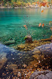 Jiuzhaigou. Very beautiful nature lake in china Royalty Free Stock Images