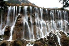 Jiuzhaigou Wasserfälle Stockfoto