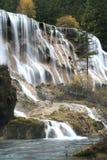 Jiuzhaigou waterfall Stock Images