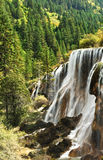 Jiuzhaigou waterfall in China Royalty Free Stock Photography