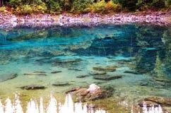 Jiuzhaivallei stock afbeeldingen