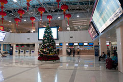 Jiuzhou port ticket hall Stock Image