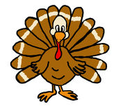 Jive Turkey Royalty Free Stock Images