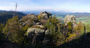 Jizera-Berge, Tschechische Republik Lizenzfreie Stockbilder