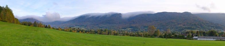 Jizera góry, republika czech Zdjęcia Stock