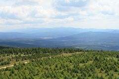 Jizera Mountains Stock Photo