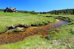Jizera Mountains Royalty Free Stock Image