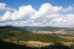 Jizeraberg, Polen Royalty-vrije Stock Fotografie