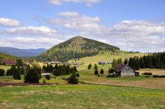 Jizerka rural settlement Stock Photography