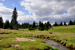 Jizerka rural settlement Stock Image