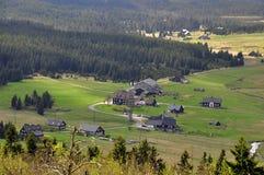 Jizerka rural settlement Stock Images