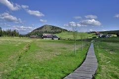Jizerka settlement Stock Image