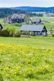Jizerske-Berge Stockfoto