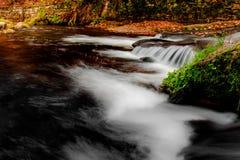 Jizerske góra, Kamenice rzeka, republika czech zdjęcia royalty free