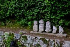 Jizo日本京都 免版税库存图片