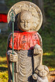 Jizo Bodhisattva at Kofukuji Temple in Nara Royalty Free Stock Photos