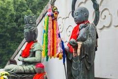Jizo Bodhisattva at Osu Kannon temple in Nagoya Stock Photography