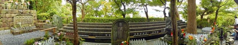 Jizo bodhisattvas, Kamakura, Japan Stock Photo