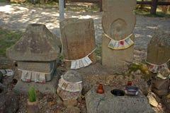 Jizo bodhisattvas, Nara, Japan Stock Photos