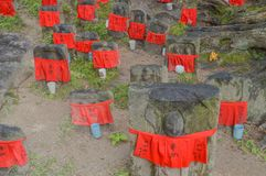 Jizo en el templo Nara Japan de Kohfukuji foto de archivo libre de regalías