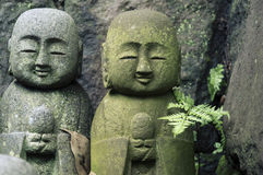 Jizo japonés Imagenes de archivo