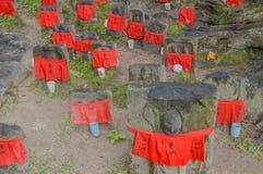 Jizo At The Kohfukuji Temple Nara Japan royalty free stock photo