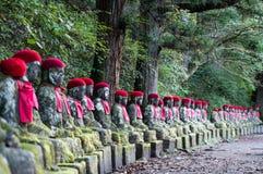Jizo, Nikko Lizenzfreie Stockfotos