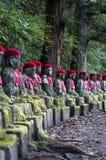 Jizo, Nikko Stockbilder