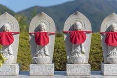 Jizo rzeźba w Japonia zdjęcia stock