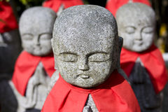 Jizo Of Sanzenninn Temple Royalty Free Stock Image