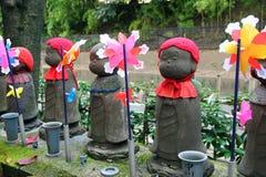 Jizo-Statuen Lizenzfreies Stockbild