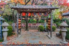Jizo-Statuen für die ungeborenen Kinder lizenzfreies stockbild