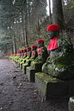 Jizo Statues Stock Photography