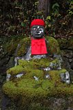 Jizo Statues in Nikko, Japan Royalty Free Stock Photography