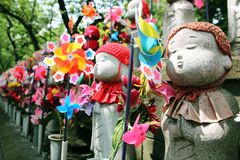 Jizo Statues Royalty Free Stock Photo