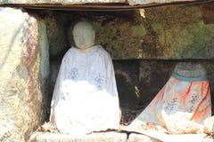 Jizoa guardian deity of children Stock Image