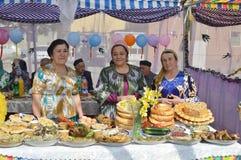 Jizzakh uzbekistan Marzo 2018 Festa Navruz Fotografie Stock Libere da Diritti