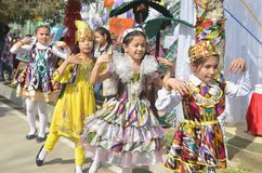 Jizzakh uzbekistan Marzo 2018 Festa Navruz Immagini Stock Libere da Diritti