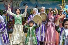 Jizzakh uzbekistan Marzo 2018 Festa Navruz Immagine Stock Libera da Diritti