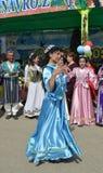 Jizzakh uzbekistan Marzo 2018 Festa Navruz Fotografia Stock Libera da Diritti