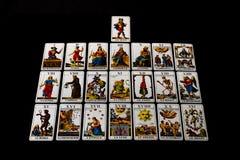 1JJ Zwitsers Tarot Major Arcana Stock Afbeeldingen