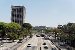 Jk Avenue in Sao Paulo Royalty Free Stock Photo