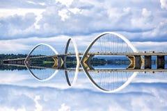 JK Bridge in Brasilia, Capital of Brazil Royalty Free Stock Photography