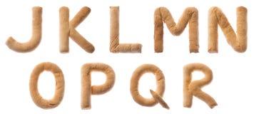 JKLMNOPQR Royalty-vrije Stock Afbeelding